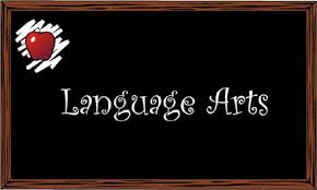 Language Arts Chalkboard