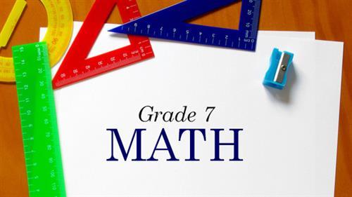 Math / Grade 7