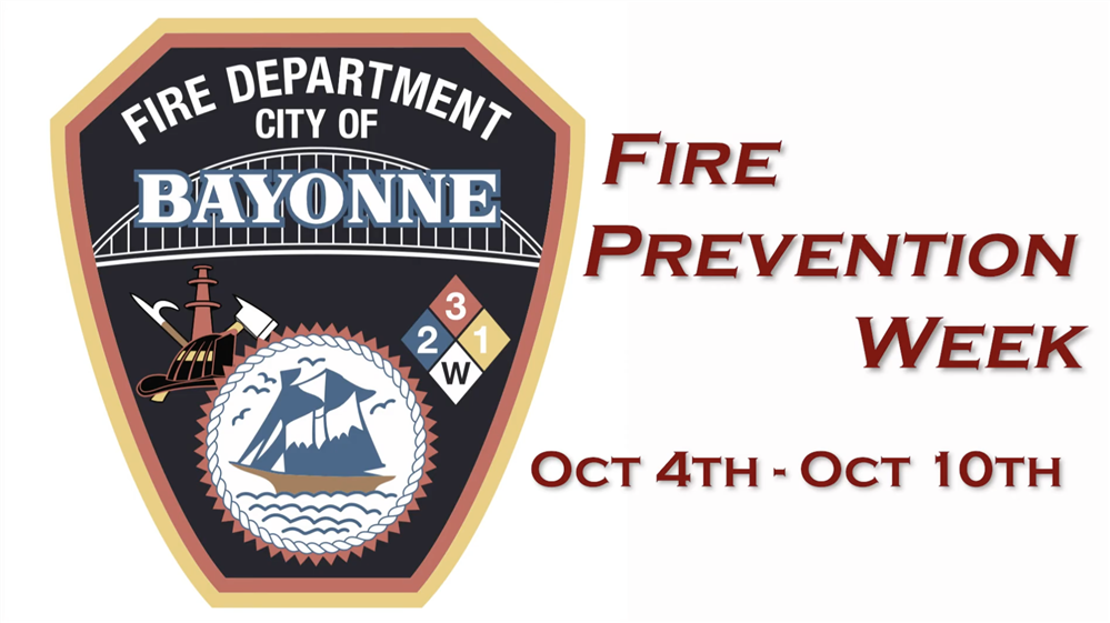 Bayonne Fire Prevention Week