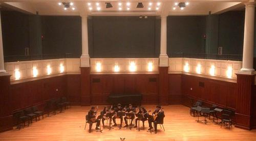BHS Quintet + 1 at TCNJ
