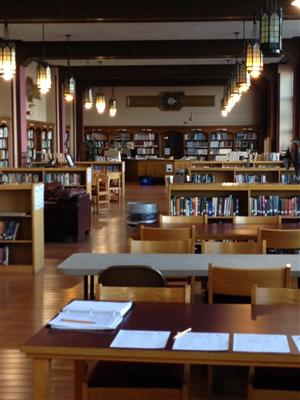 library long shot